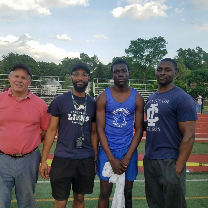 Montclair Immaculate Sophomore Isas Waxter II Continues the Immaculate Tradition of Excellence in Track Featured Photo