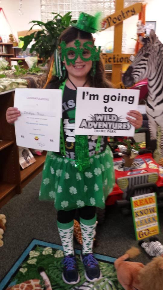 Wild Adventure winner!