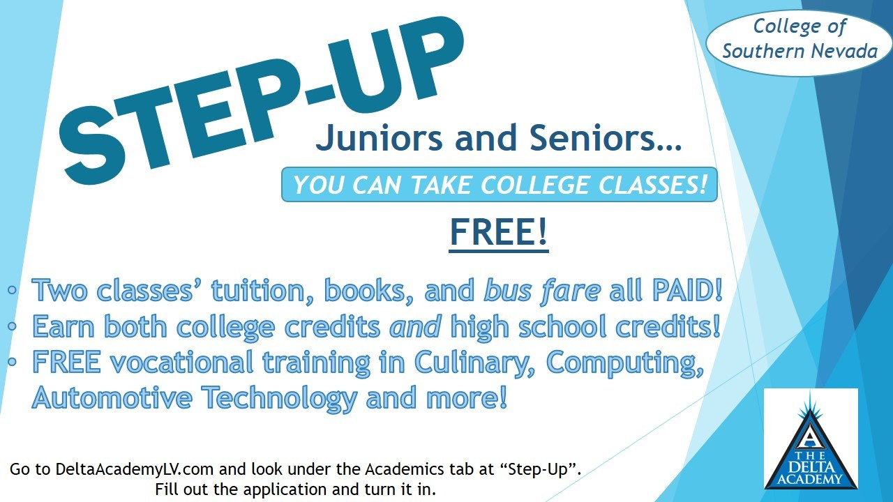 step up college program