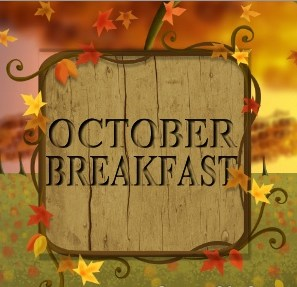 October Breakfast Menu Featured Photo