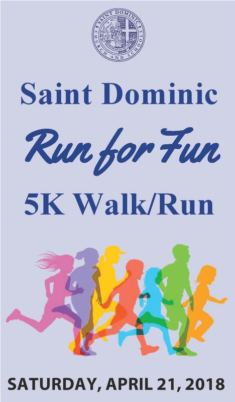 St. Dominic Run for Fun 5K Walk/Run Featured Photo