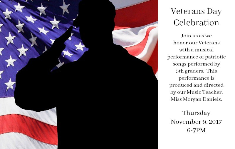 Veterans Day Performance TONIGHT! Thumbnail Image