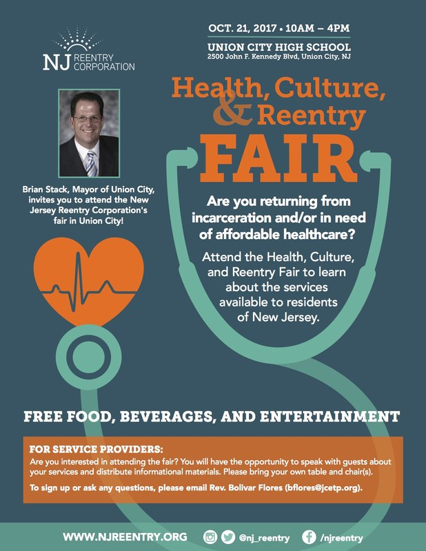 health care fair flyer english