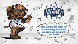 OKC Thunder Logo with Rumble