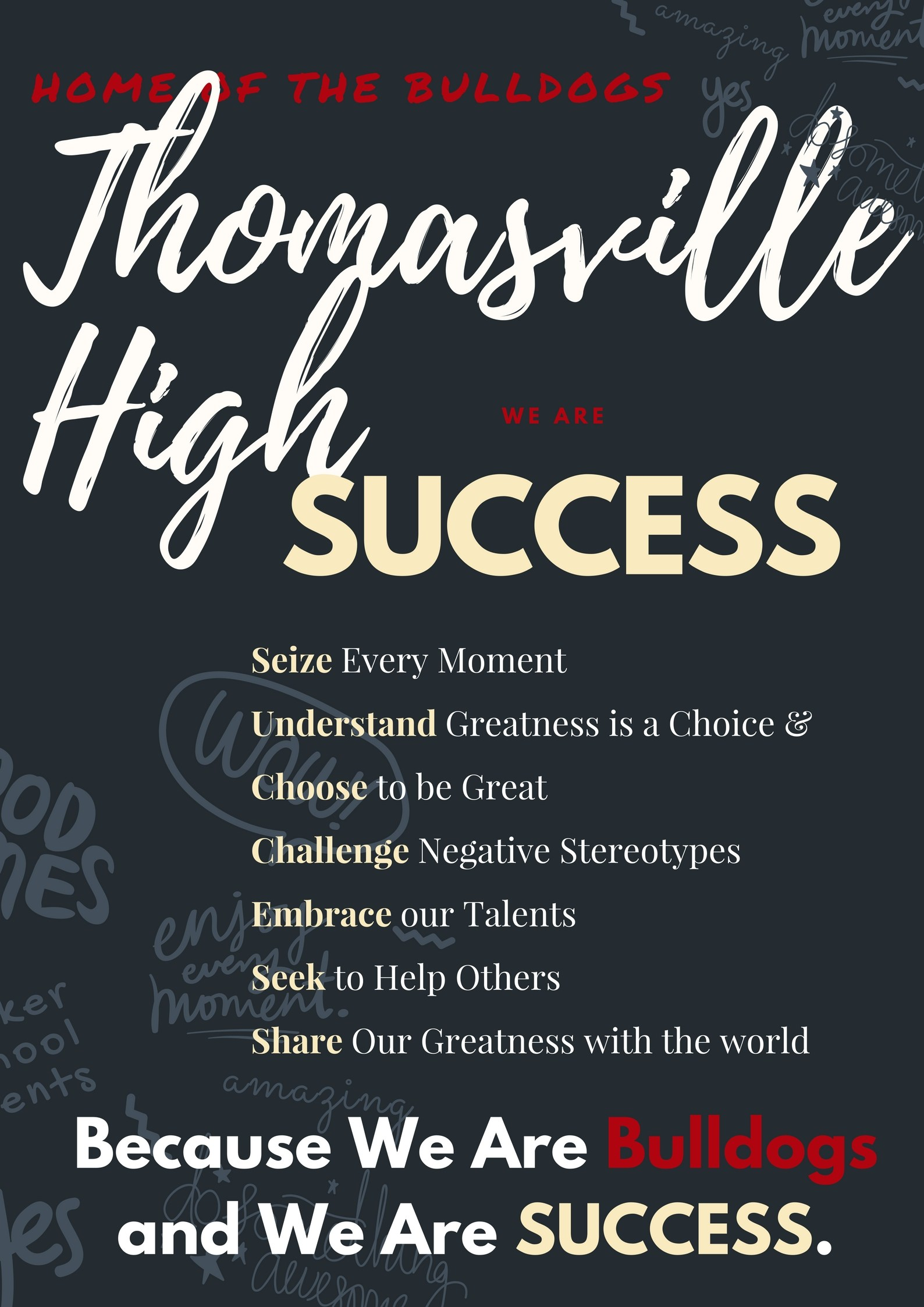 THS Success Poster