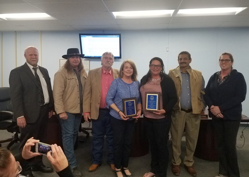 Kay Hall, Denise Quesenberry Named Employees of Month Featured Photo