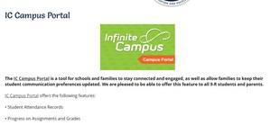 IC Campus portal