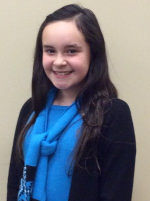 Avery Duhon, 5th grade, Hackberry School