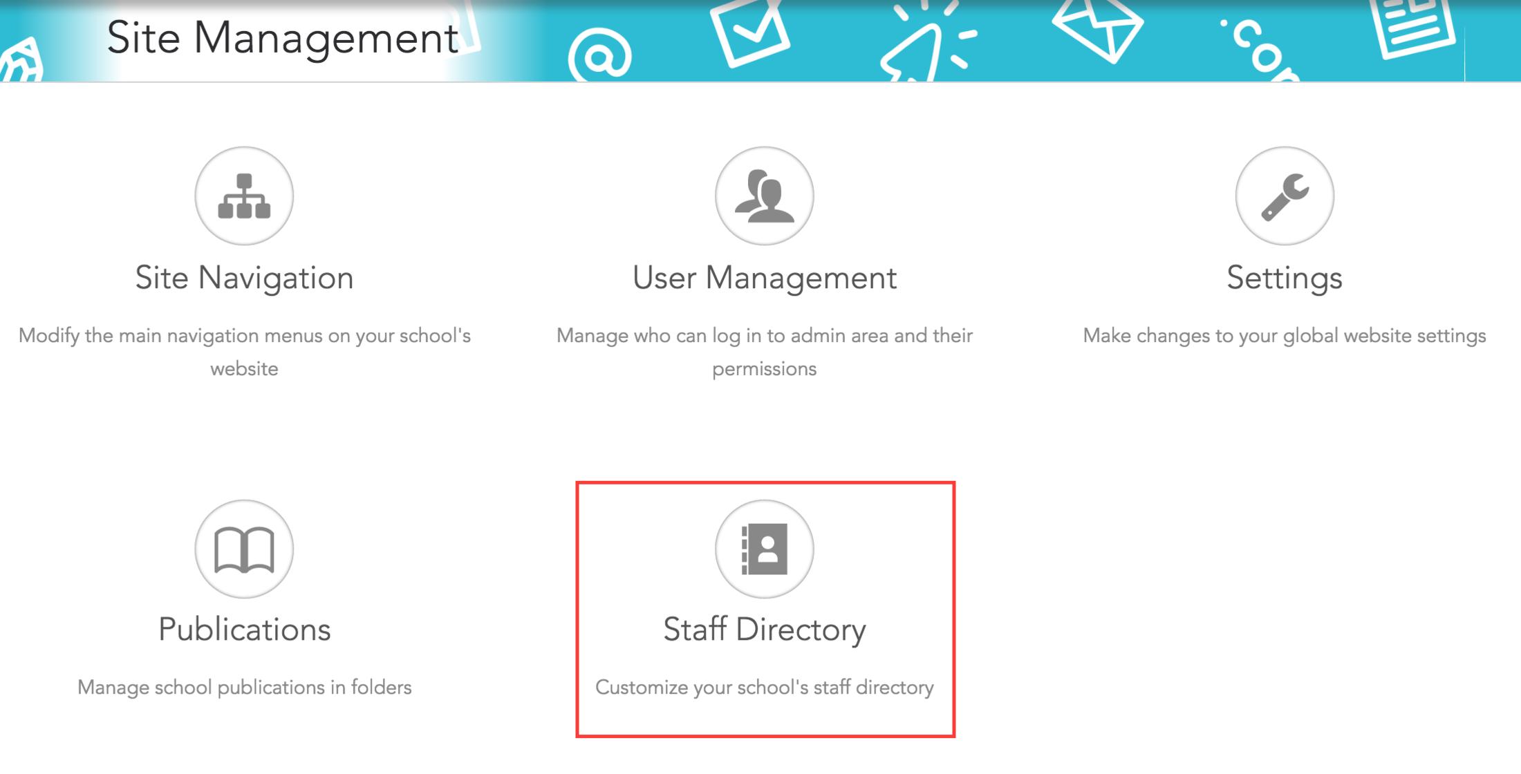 Click Staff Directory