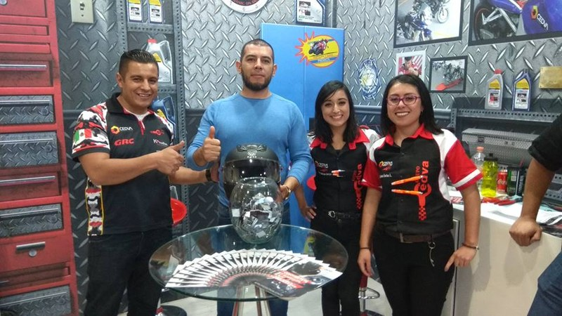 Gran participación de Grupo CEDVA en el salón internacional de la motocicleta 2017 Featured Photo