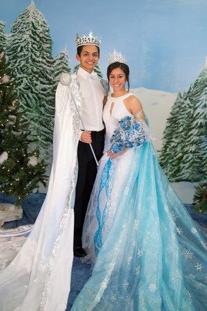 KIng Erik Lopez  and Queen Beatrice Martinez