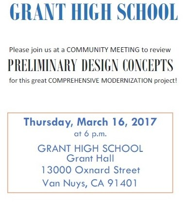 Community Meeting Regarding Grant's Modernization Project Thumbnail Image