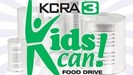 KCRA Kids Can Food Drive logo