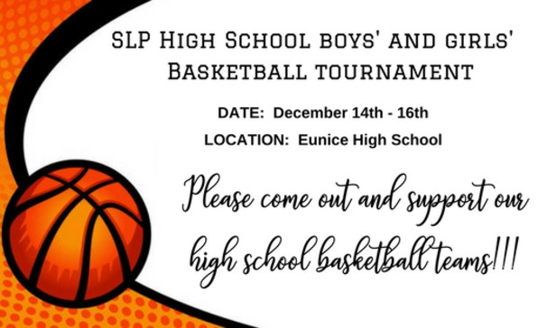 Please come out and support our high school basketball teams!!!