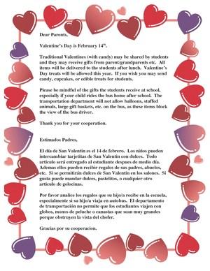 Valentine's Annoucement