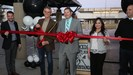 Stockdale High School ribbon cutting photo featuring Principal Scott Odlin.