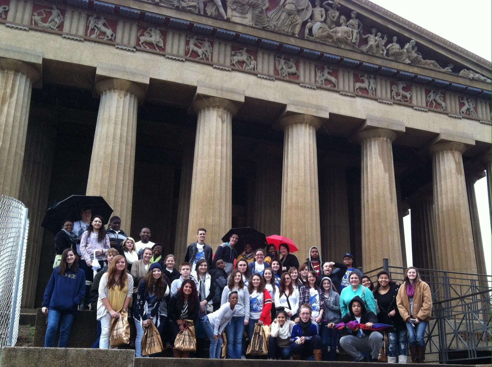 Nashville Trip- at the Parthenon