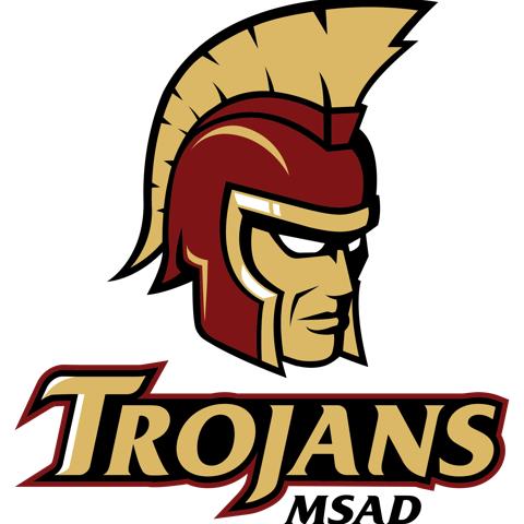 MSAD Trojans Logo