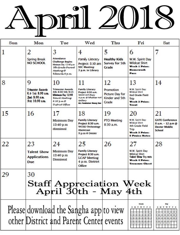 April news and events... Noticias y eventos de Abril... Featured Photo