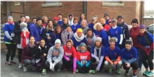 turkey trot team participants