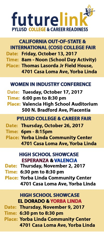 College & Career Events