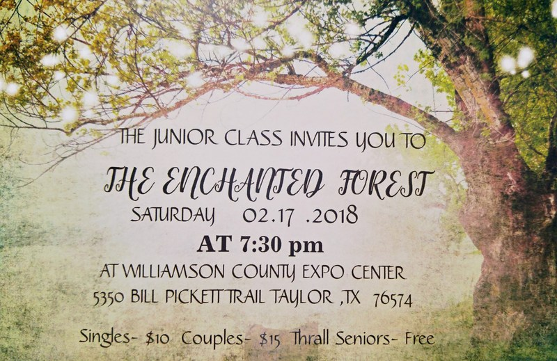 Jr.-Sr. Prom 2018 This Saturday! Thumbnail Image