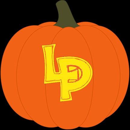LP pumpkin logo