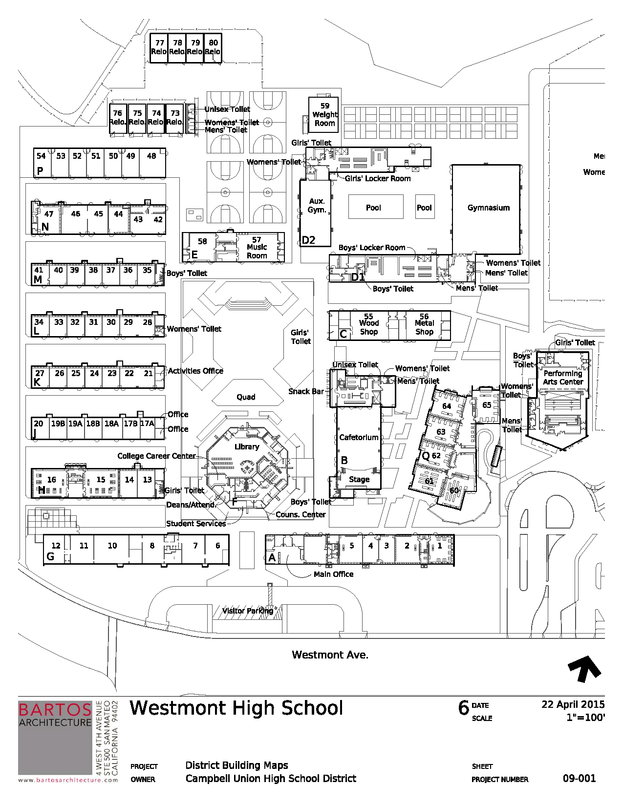 School Campus Map.Campus Map Contact Us Westmont High School