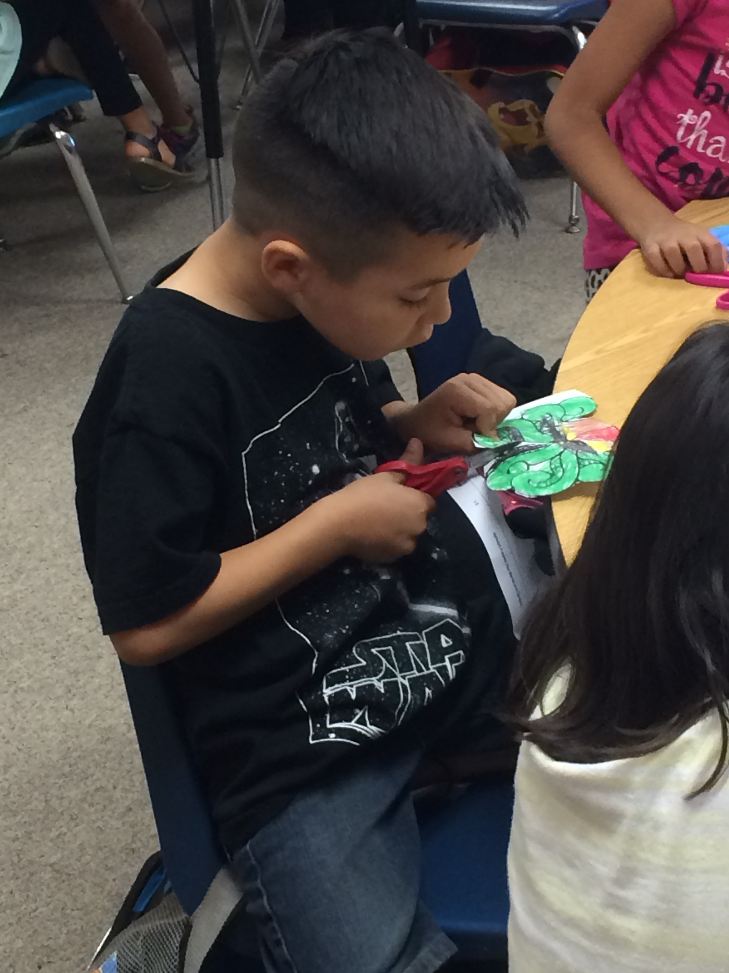 Kinder Cutting Project