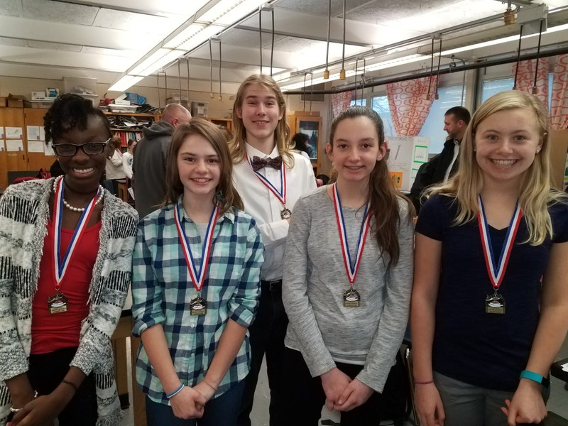 FMS science fair district qualifiers photo