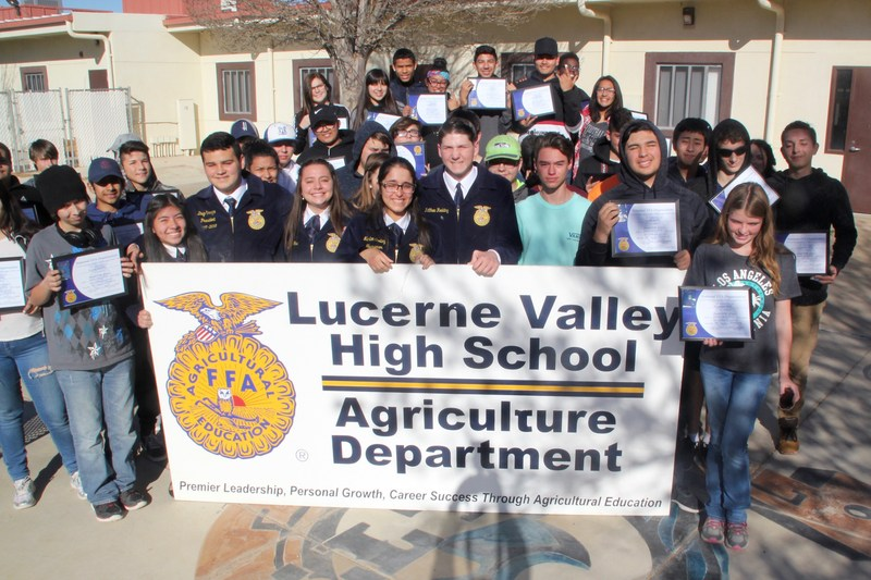 Record Number Are Awarded FFA Chapter Degrees Featured Photo