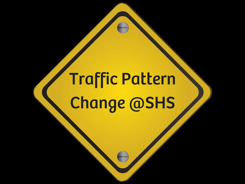 Traffic Pattern Change at Sanger High School