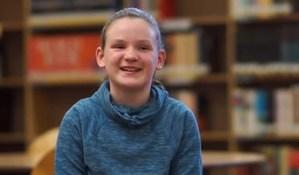 Zoey, financial aid recipient