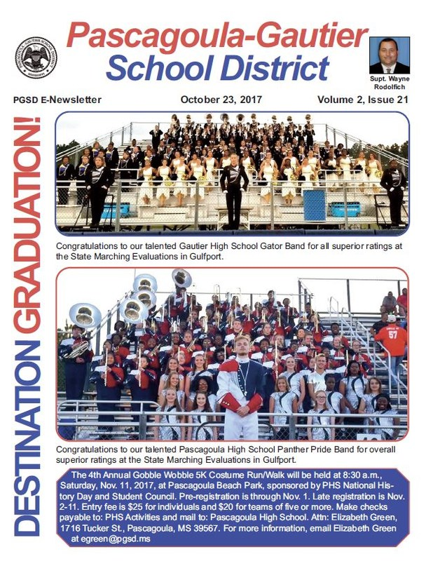 PGSD eNewsletter, Volume 2, Issue 21