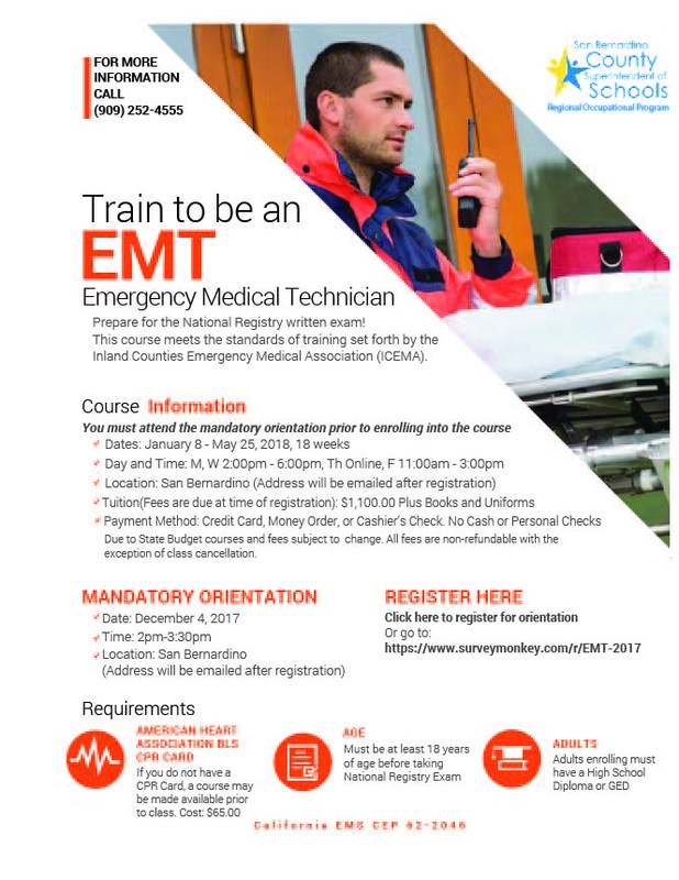Register to become an EMT Thumbnail Image
