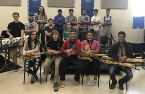 The Brewer High School Jazz Band won first place in the 5A division at the 21st Annual TCC/Wesleyan Jazz Festival on May 6.