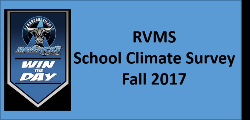 RVMS School Climate Survey Fall 2017