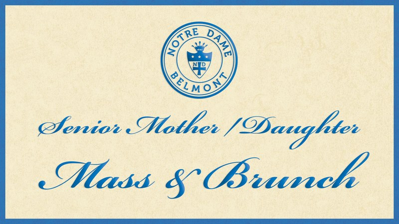 NDB Senior Mother/Daughter Mass and Brunch Thumbnail Image