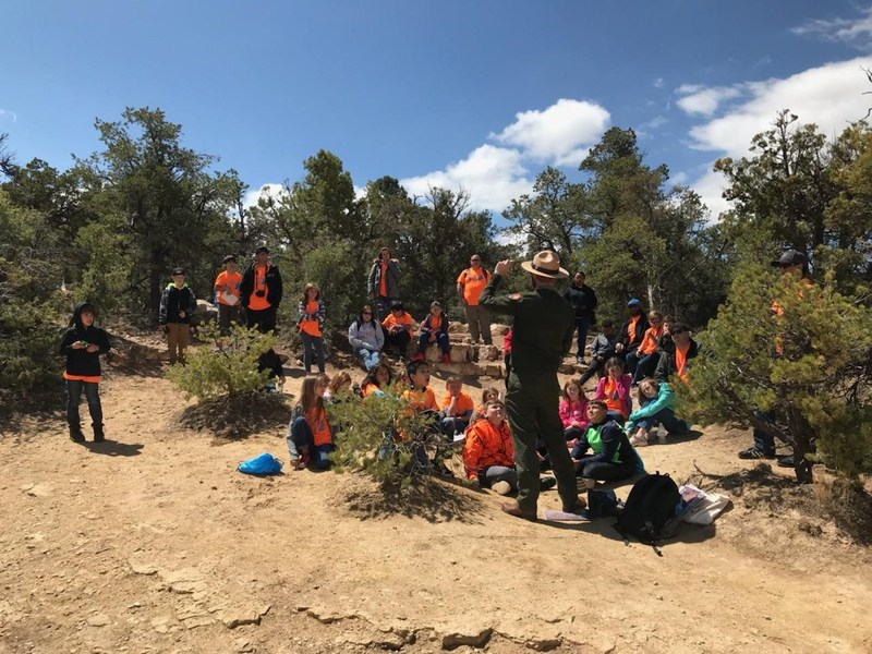 KSSE Students at Grand Canyon
