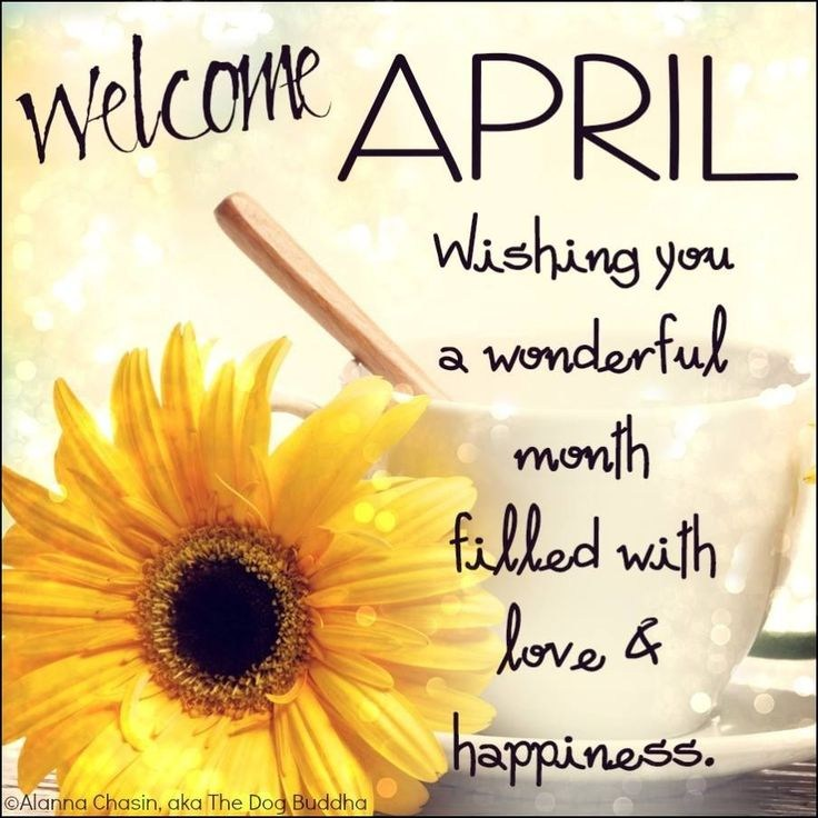 Welcome April