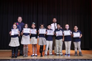3rd grade honor roll students