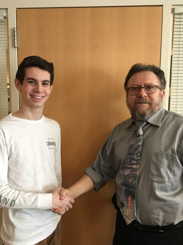 Congrats to Ethan Rutta! Thumbnail Image