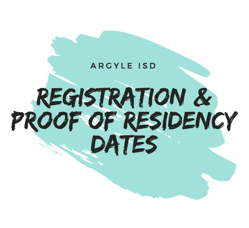 AISD CAMPUS REGISTRATION & PROOF OF RESIDENCY DATES Thumbnail Image