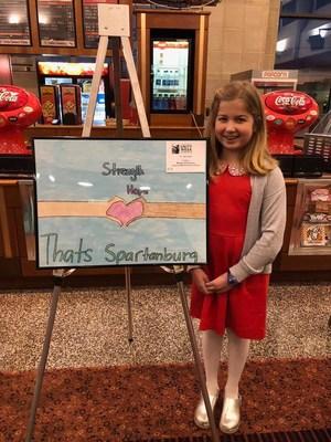 A picture of third place winner Meg Rousseau.