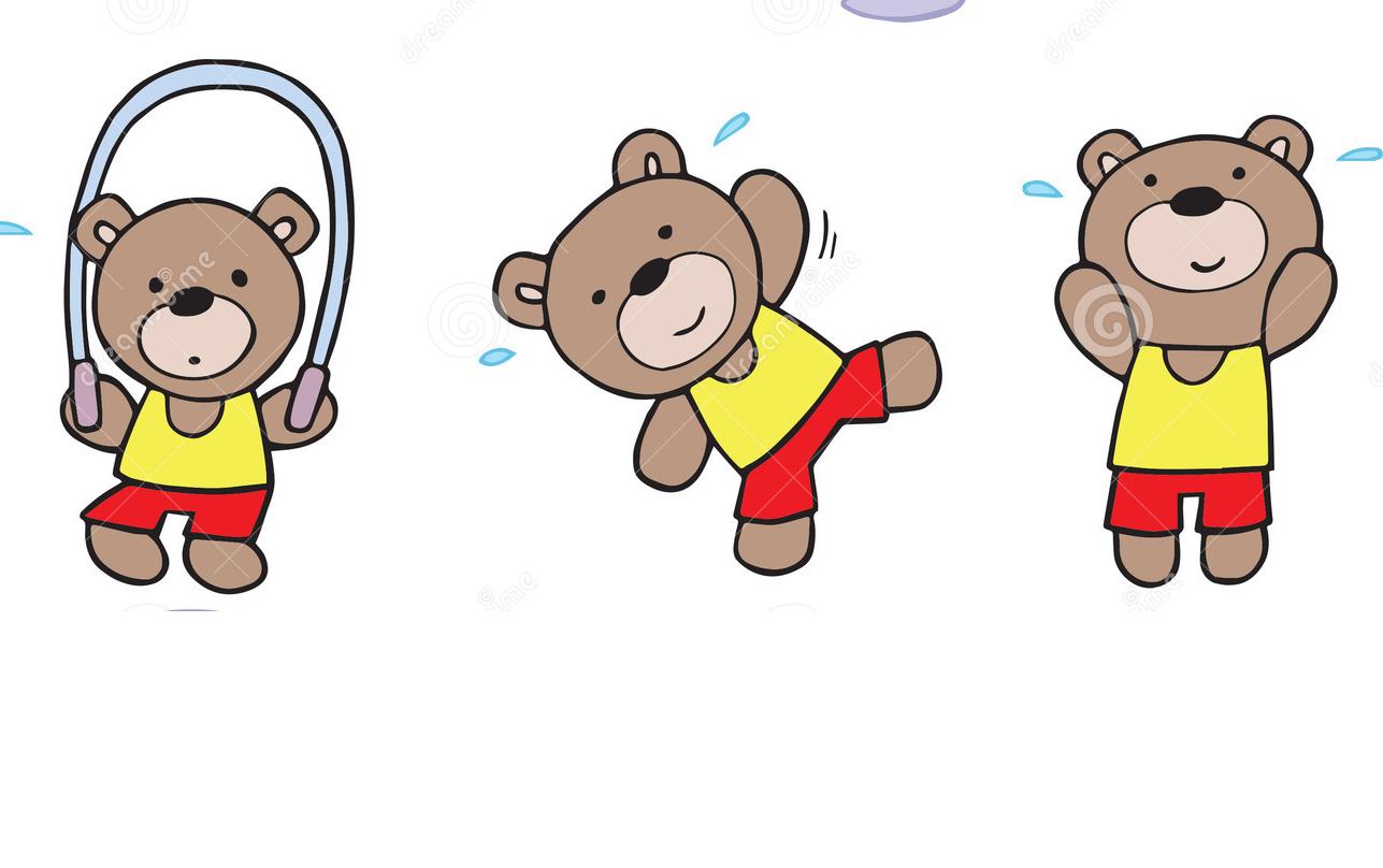 Bears Exercising