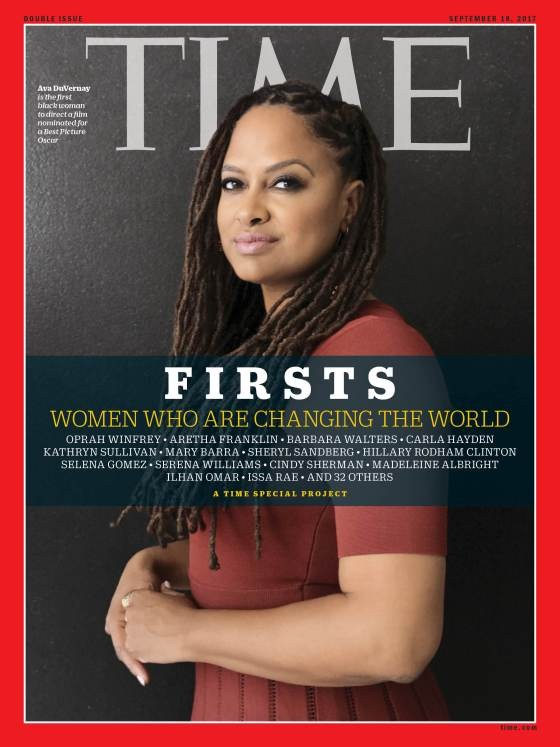 Ava DuVernay '90 on the Cover of September 18 Time Magazine Thumbnail Image