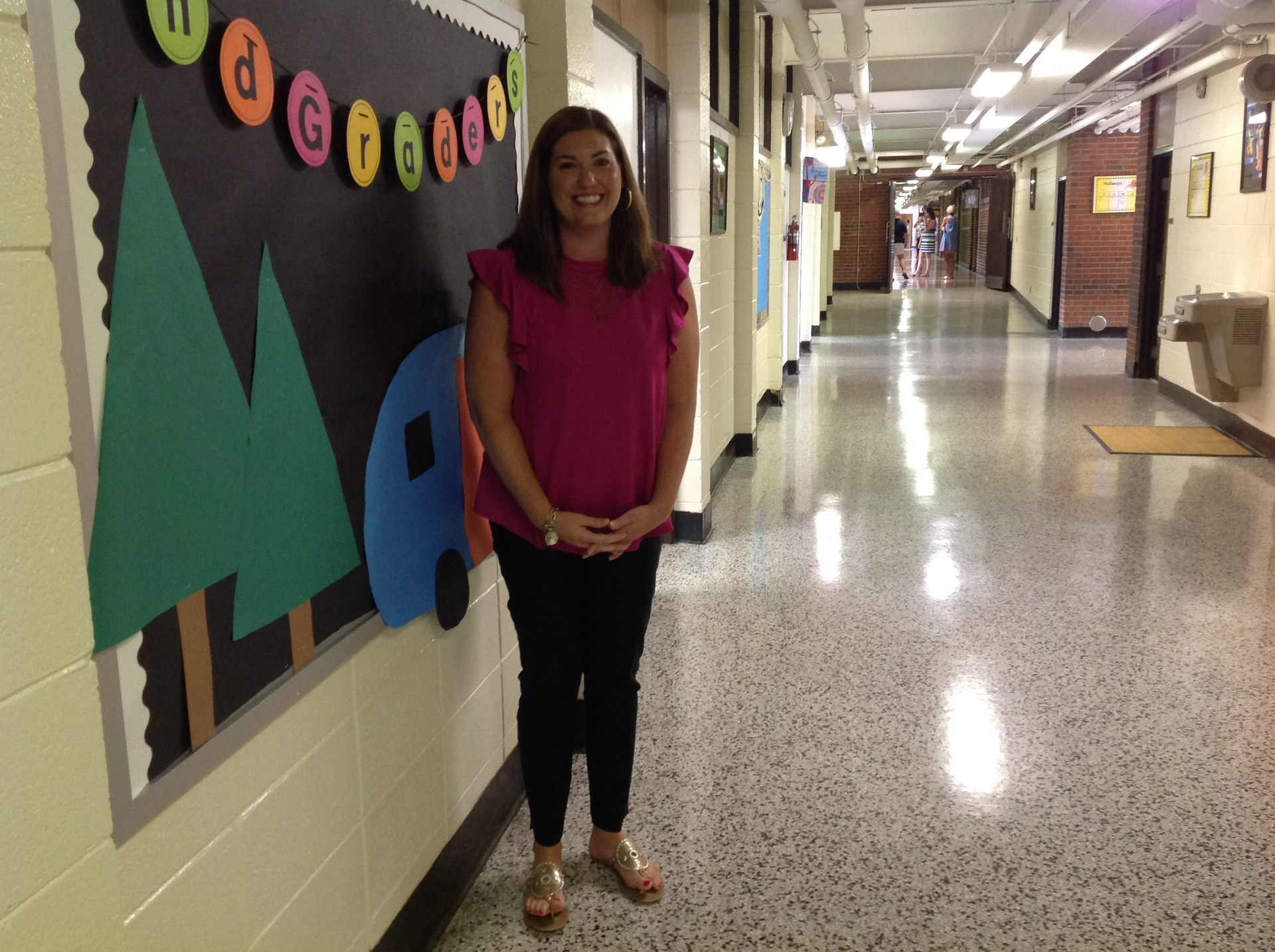 Teacher of the Year: Jennifer Beasley: 2nd Grade