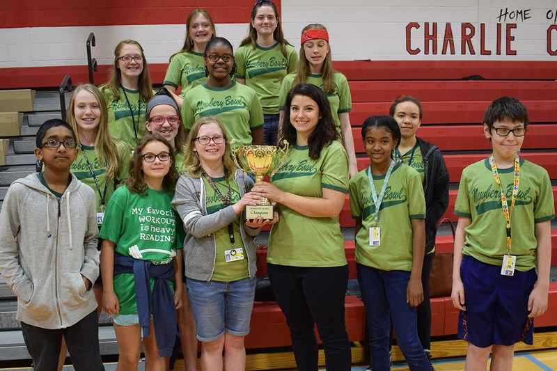 CMS Bookwormies win Newbery Bowl! Thumbnail Image