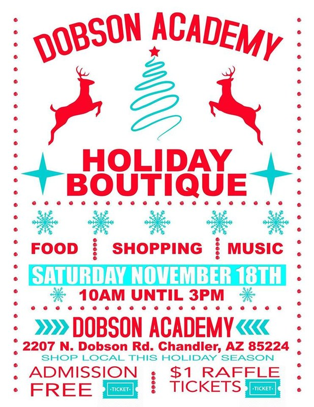 Dobson Academy Holiday Boutique