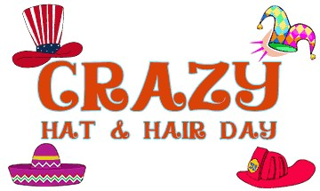 Crazy Hat Hair Day Png